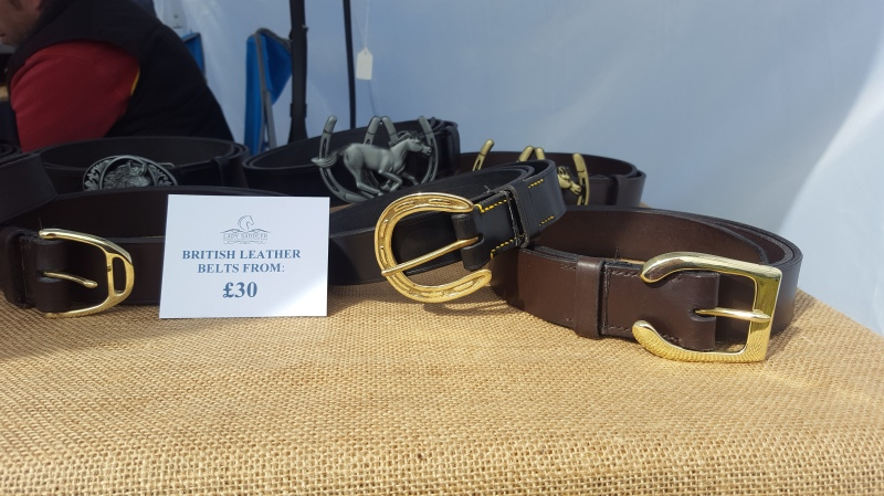 British handmade belts by The Lady Saddler